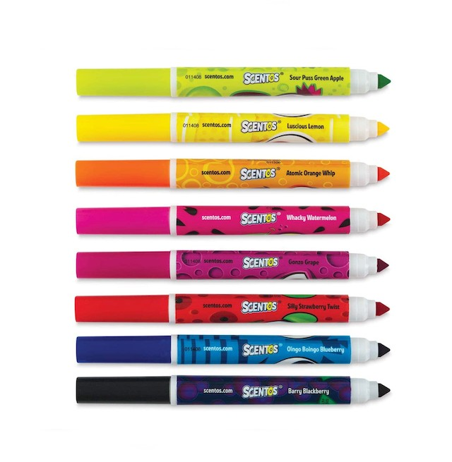 Scentos Washable Scented Markers