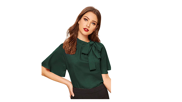 Shein best casual business top on Amazon