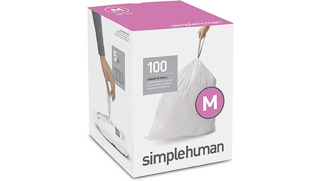 Simplehuman best trash bags on Amazon