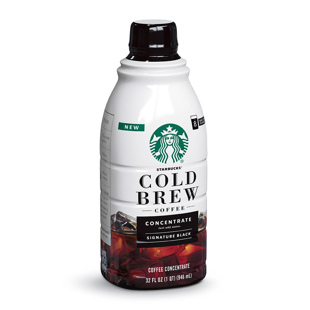 Starbucks Cold Brew Coffee Bottle