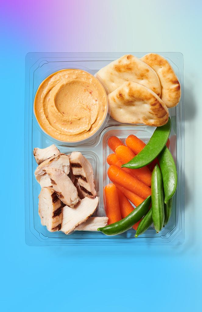 Starbucks Grilled Chicken & Hummus Protein Box