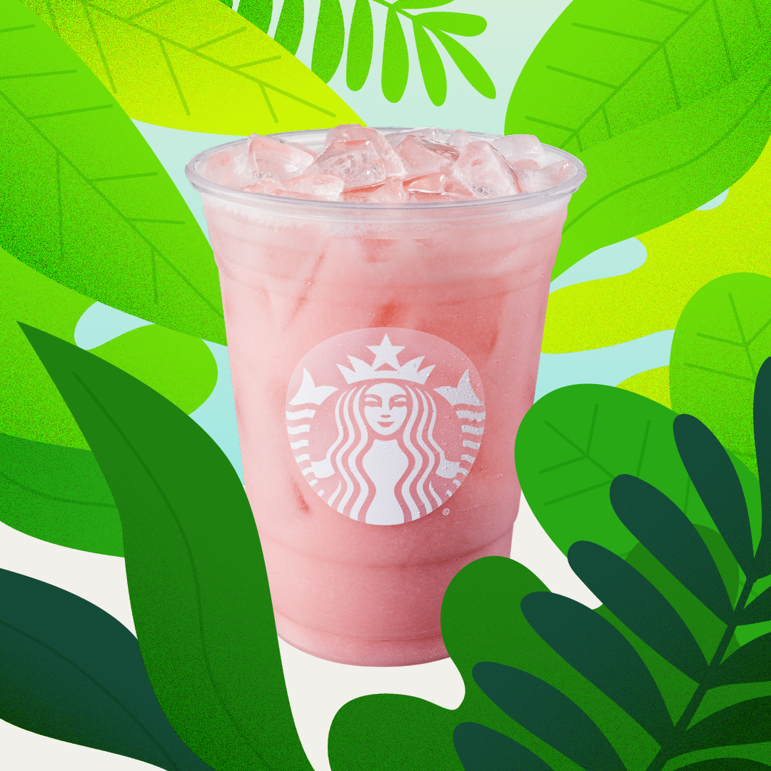Starbucks Iced Guava Passionfruit Drink