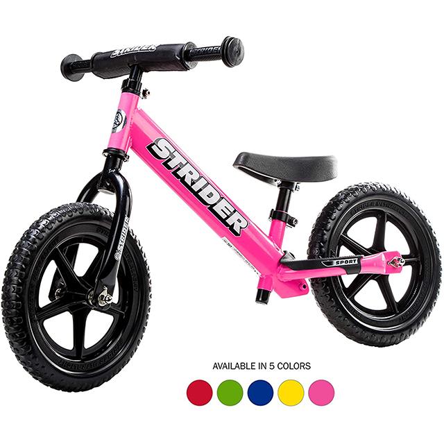 Strider best balance bike for 3 year old on Amazon
