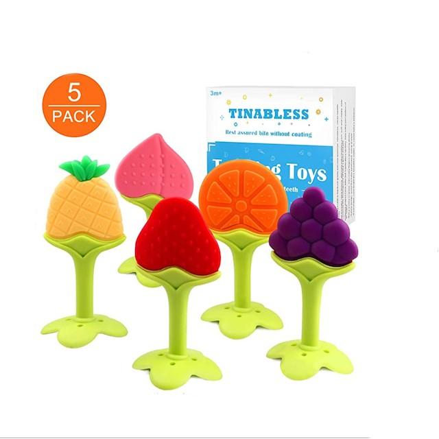 Tinabless Infant Teething Keys Set