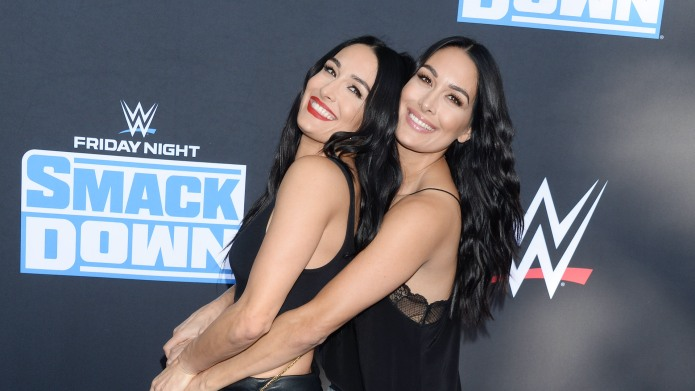 Nikki Bella and Brie BellaWWE 20th