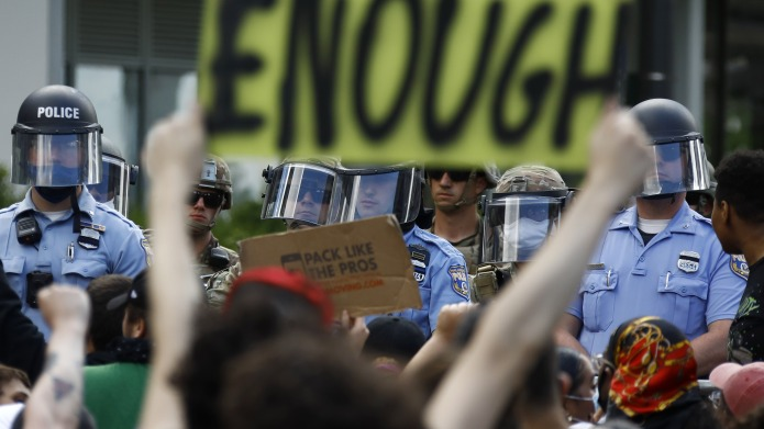 Protesters rally as Philadelphia Police officers