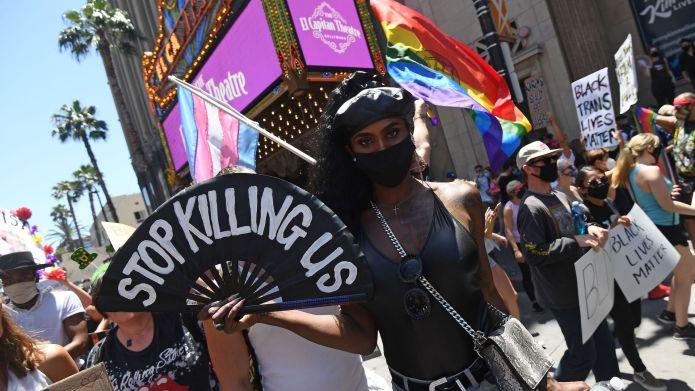 All Black Lives Matter protest on