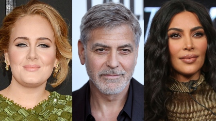 Adele, George Clooney, Kim Kardashian West