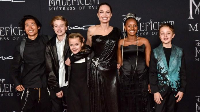 Pax Jolie-Pitt, Shiloh Jolie-Pitt, Vivian Jolie-Pitt,