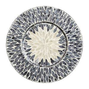 Blue-White-Capiz-Shell-Charger-Plate