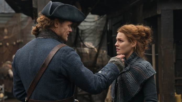 'Outlander' stars Sam Heughan and Sophie