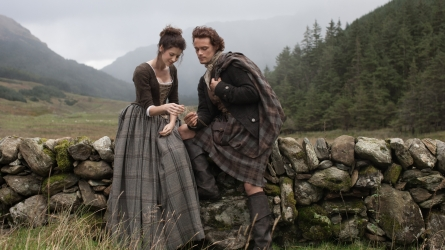 'Outlander' stars Caitriona Balfe and Sam