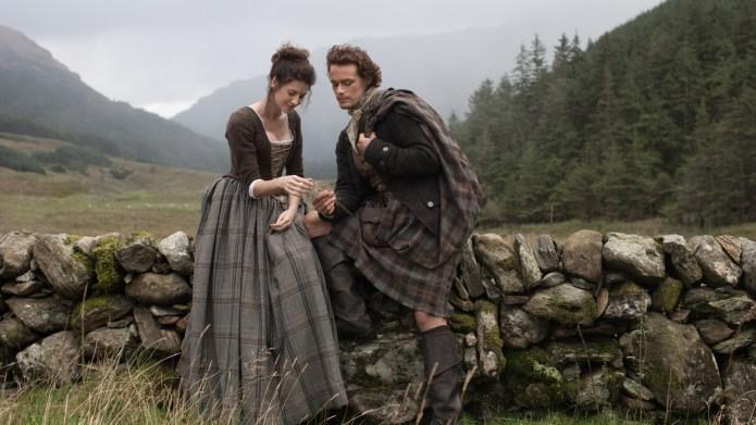 'Outlander' stars Caitriona Balfe and Sam
