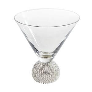 Silver-Stemless-Martini-Glass