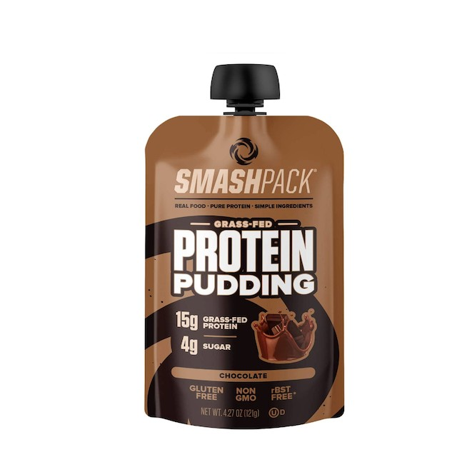 SmashPack Chocolate Protein Pudding Pouch