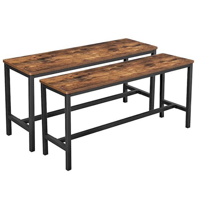 VASAGLE ALINRU Table Benches