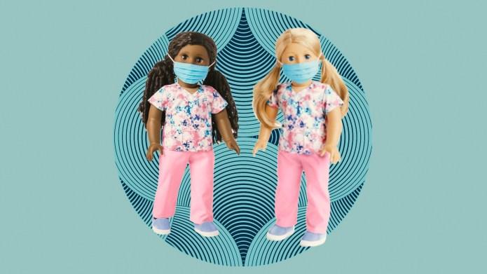 American Girl healthcare workers