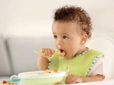 Keep Messy Toddlers (Somewhat) Clean With These Adorable Plastic Bibs
