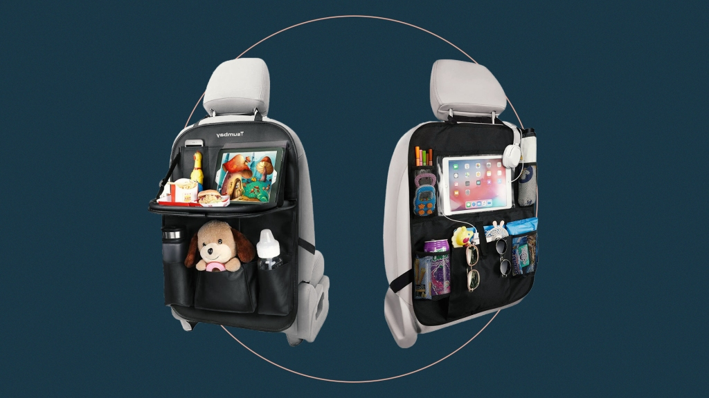 Smart Backseat Car Organizers for Kids That Will Hold Their Tablet