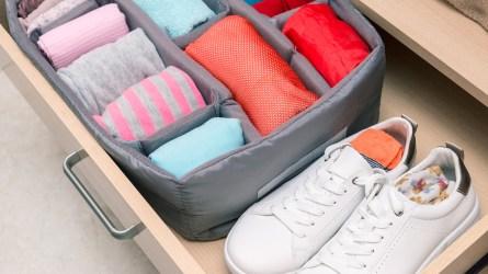 best underwear sock organizer drawer amazon