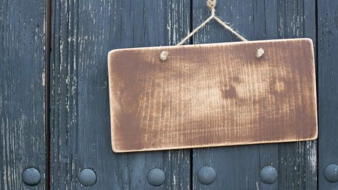 best wooden hanging sign amazon