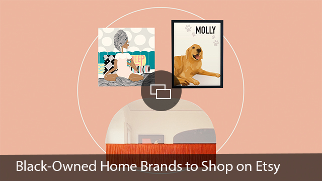 black-owned home brands etsy