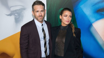 Blake Lively, Ryan Reynolds. Ryan Reynolds