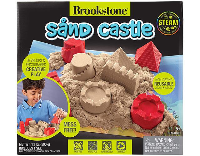 brookstone kinetic sand kit amazon