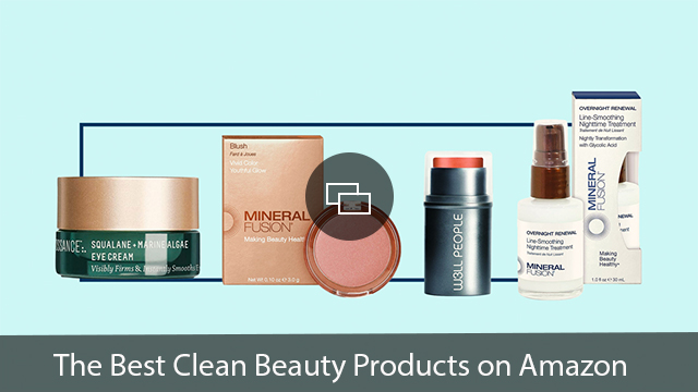 amazon clean beauty products