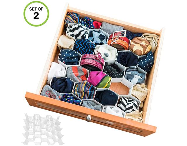 evelots best underwear sock drawer organizer amazon