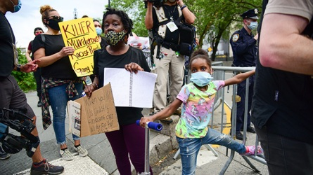 Black Lives Matter child protesters