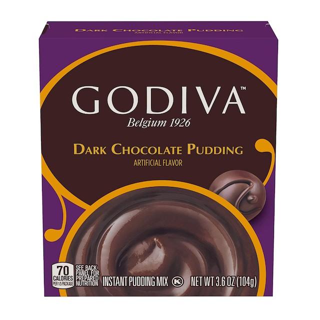 Godiva Dark Chocolate Pudding Mix