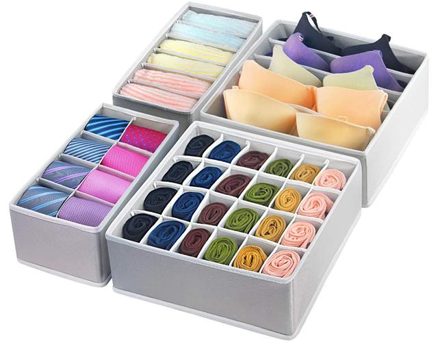 gogoda best underwear sock drawer amazon