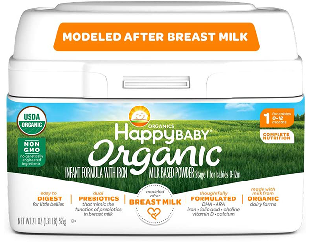 happy baby organic best baby formula amazon