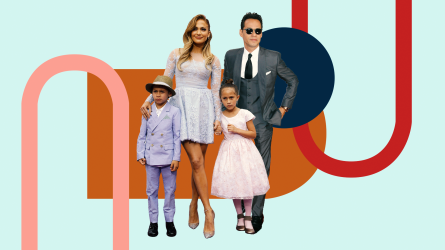 Jennifer Lopez, Marc Anthony, Emme Maribel