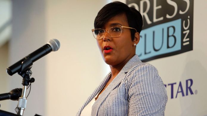 Atlanta Mayor Keisha Lance Bottoms speaks