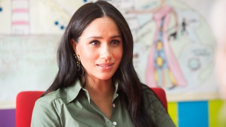 Meghan Markle Delivers Moving Speech on