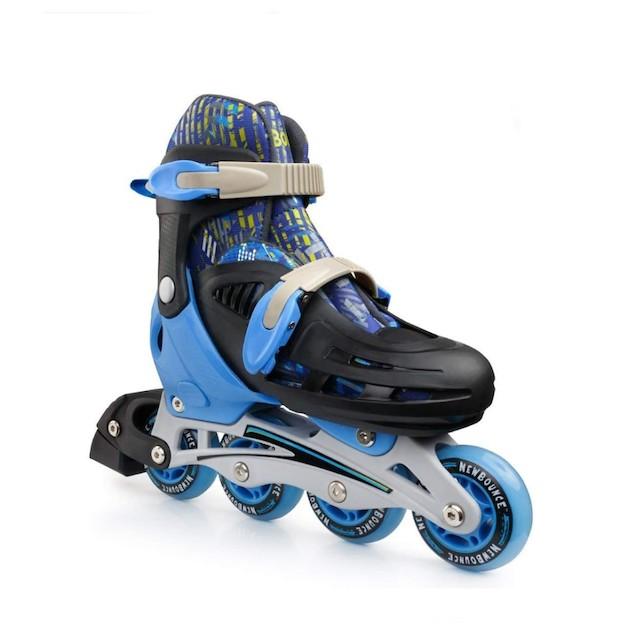 New Bounce Adjustable Inline Skates for Kids