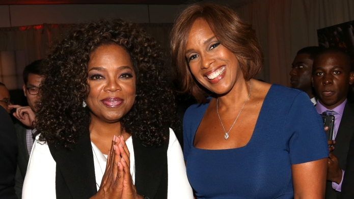Oprah Shares the (Socially Distant) Moment