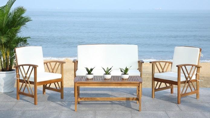 Overstock four-piece furniture set