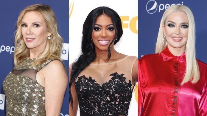 Ramona Singer, Porsha Williams, Erika Jayne