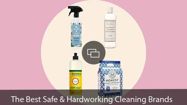 safe hardworking cleaning brands