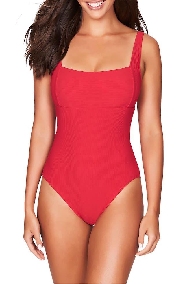 sea level square neck swimsuit nordstrom sale