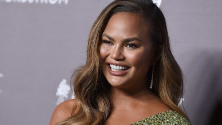 Chrissy Teigen arrives at the 2019