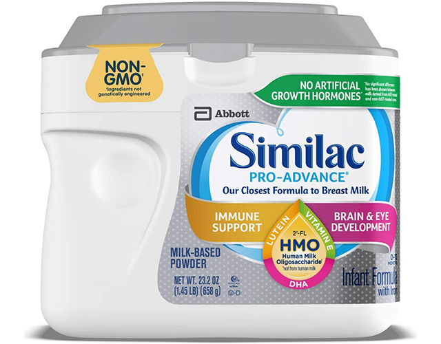 similac pro advance formula