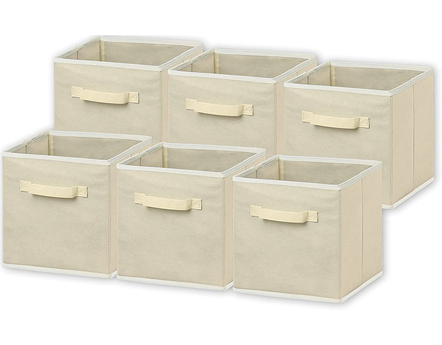 simple houseware best clothes storage cubes amazon