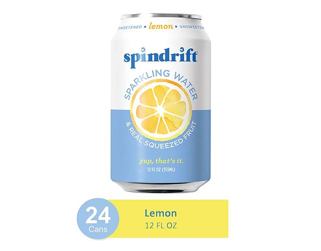 Spindrift Lemon Sparkling Water amazon