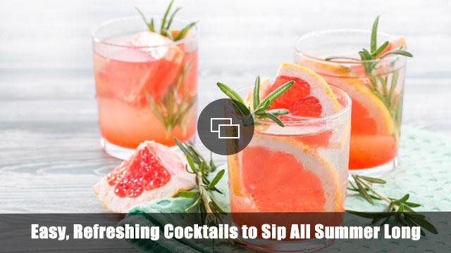 Summer cocktails slideshow