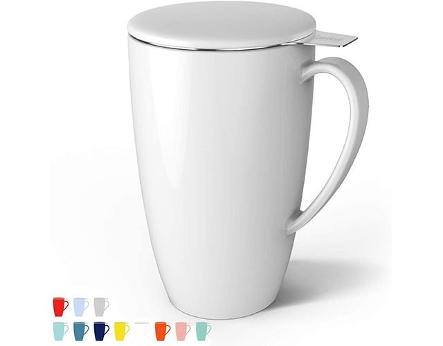 Sweese best tea mug infuser lid amazon