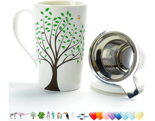 Teanagoo best tea mug infuser lid amazon